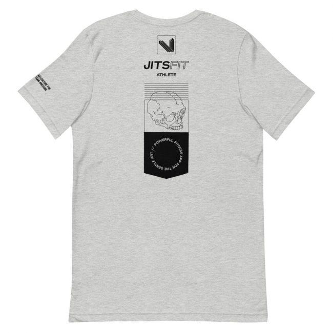 """""""JitsFit Athlete"""" Unisex T-Shirt – Athletic Heather"""